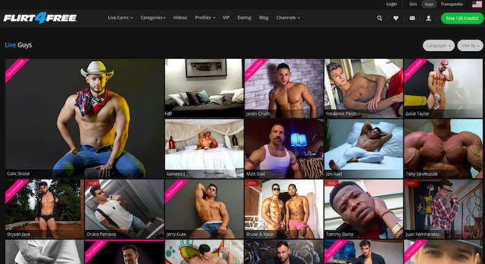 Flirt4Free Gay Cam Review