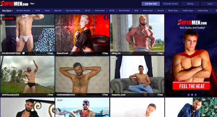 Supermen Gay Cam Site Review